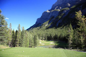 4th hole, Fairmont Banff Springs Golf Course