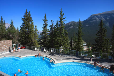 Banff Town Sights Canadian Rockies Travel Guide