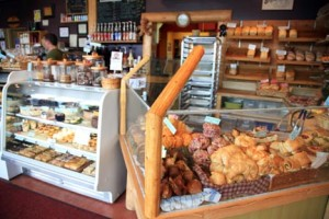 Bear's Paw Bakery is the best place in Jasper for coffee and freshly baked items.