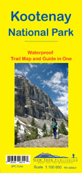 Kootenay National Park Gem Trek Map