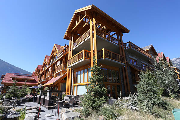 Banff's newest hotel is the Moose Hotel & Suites on Banff Avenue.
