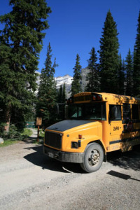 The Lake O'Hara Shuttle