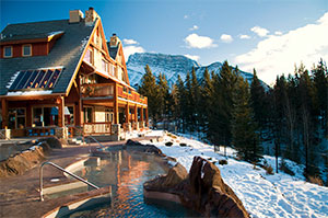 Banff Hotels With Outdoor Hot Tubs Canadian Rockies